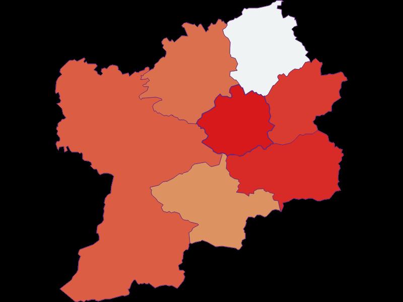 Population development since 1900 in Puchenstuben
