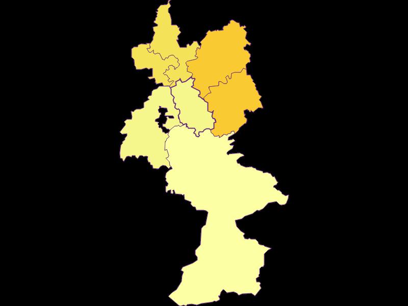Плотность населения в Reinsberg