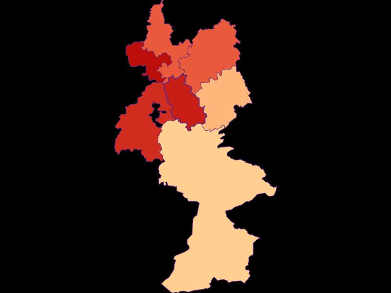 Размер домохозяйства в Reinsberg