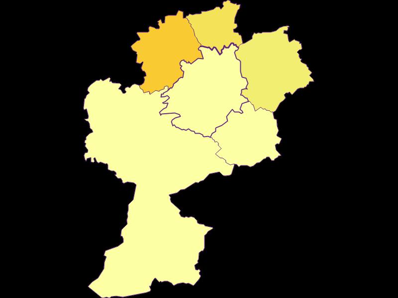 Плотность населения в St. Anton an der Jeßnitz