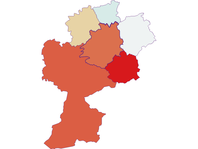 Демография с 1900 года в St. Anton an der Jeßnitz
