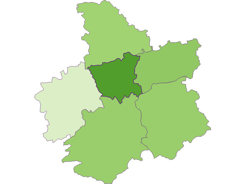 Заселенность в St. Georgen an der Leys