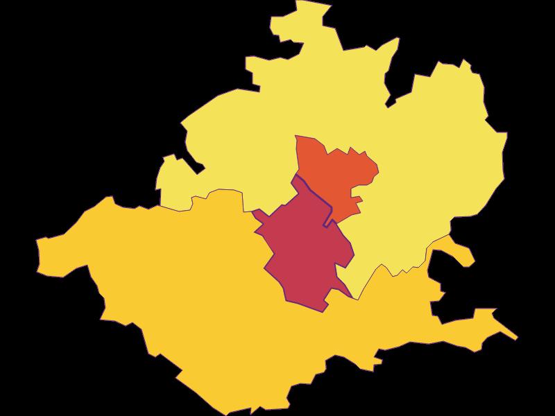 Плотность населения в Wieselburg
