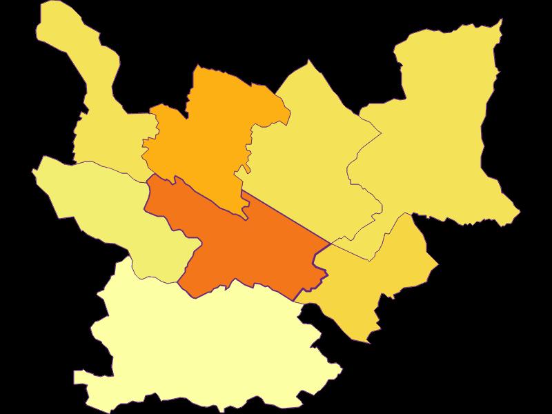Плотность населения   Spittal an der Drau