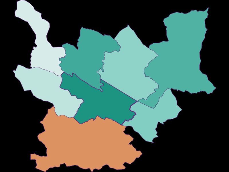 Прирост населения за 1869-2018 | Spittal an der Drau