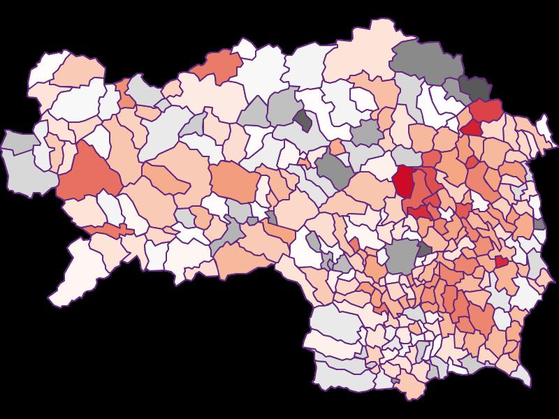 Bevölkerungsaktivität | Steiermark
