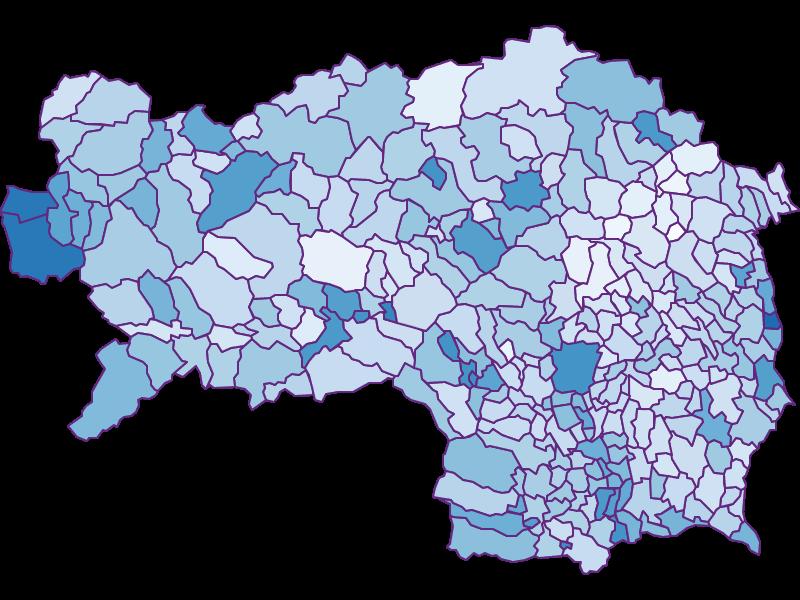 Arbeitslosigkeit: Steiermark - Österreich - Geographie, Wirtschaftskunde, Statistik | Similio