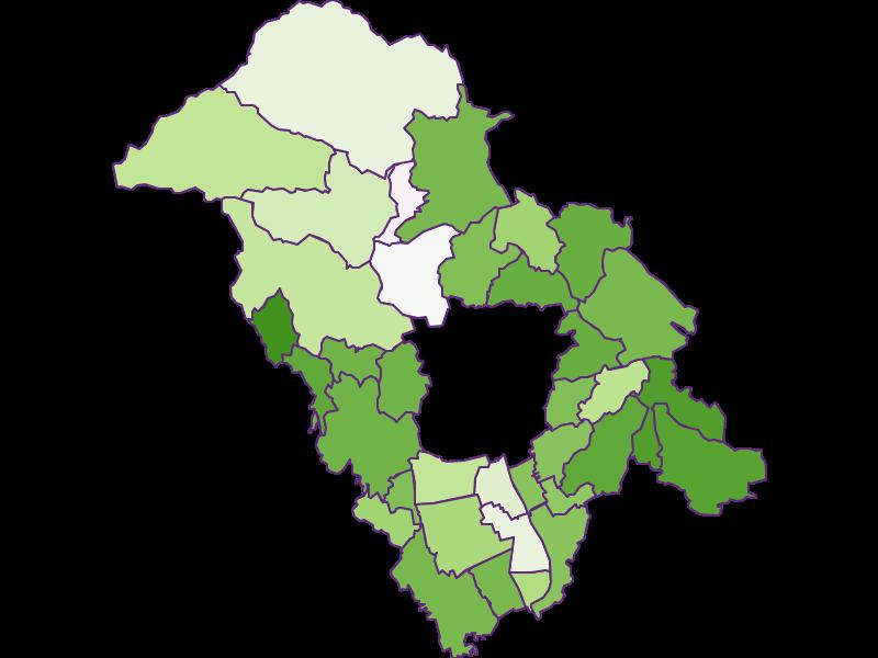 Заселенность в Graz-Umgebung