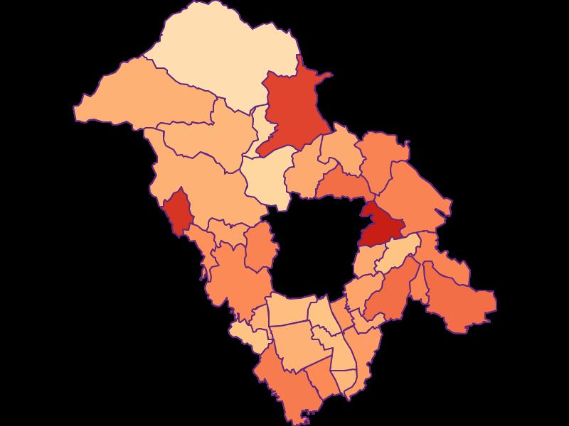 Household size in Graz-Umgebung