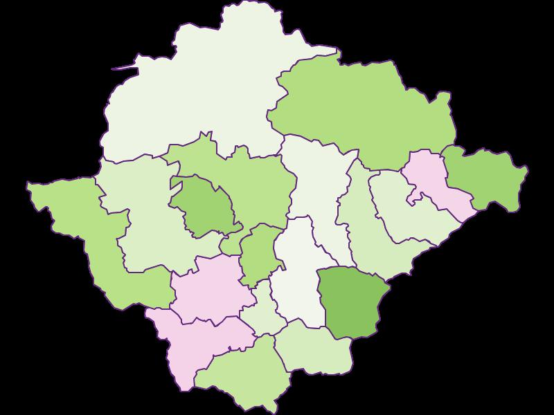 Заселенность в Bruck-Mürzzuschlag