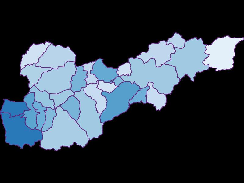 Unemployment in Liezen