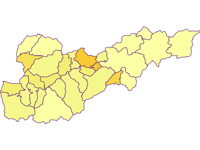 Population density in Liezen
