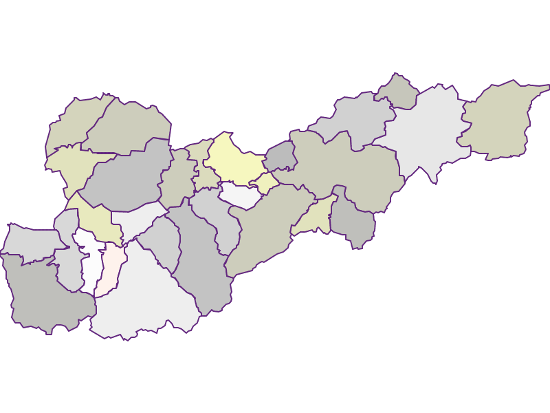 Farmers (comparison to federal state) in Liezen