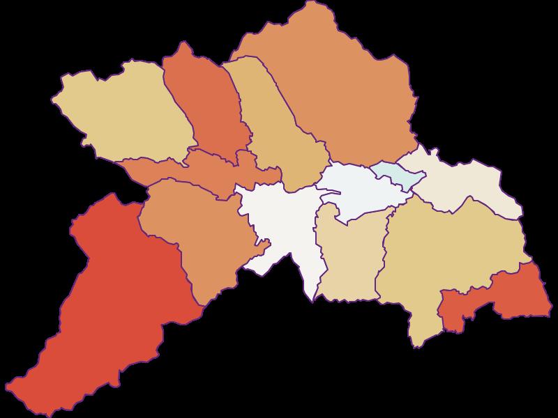 Population development since 1869 in Murau