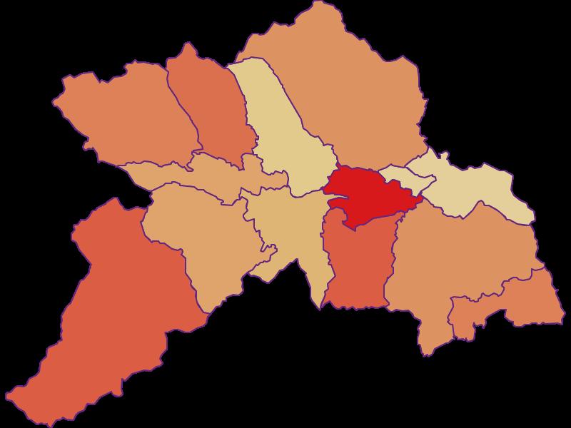 Population development since 2011 in Murau