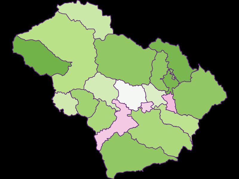 Заселенность в Murtal