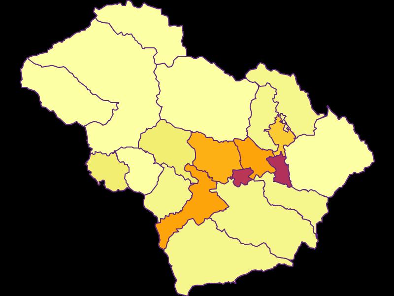 Плотность населения в Murtal