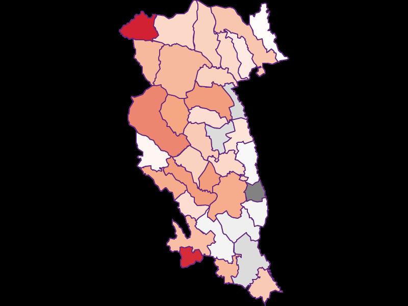 Activity rate in Hartberg-Fürstenfeld
