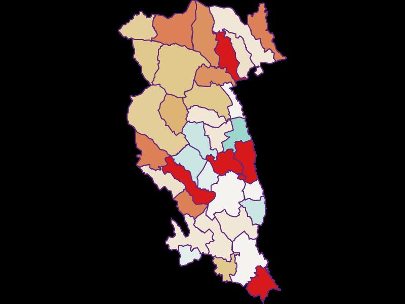 Population development since 2011 in Hartberg-Fürstenfeld