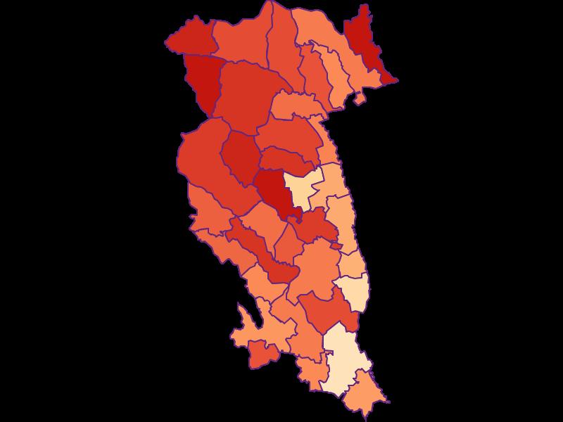 Household size in Hartberg-Fürstenfeld