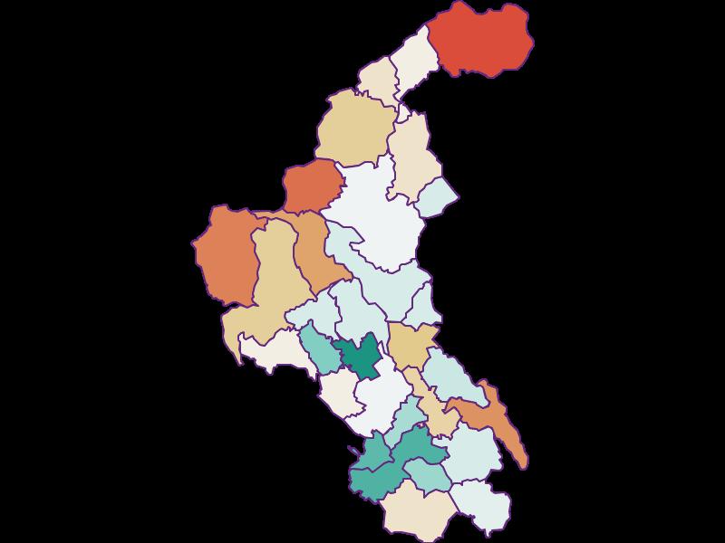 Демография с 1869 года в Weiz