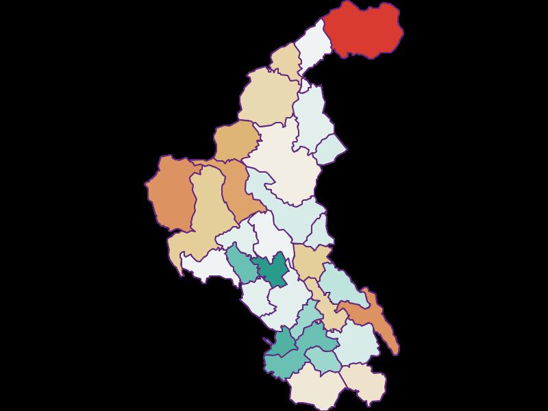Демография с 1900 года в Weiz