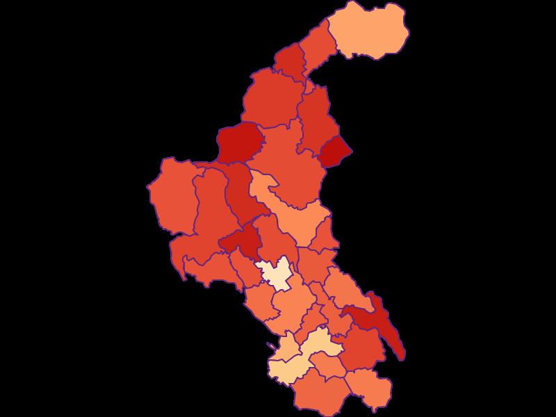 Размер домохозяйства в Weiz