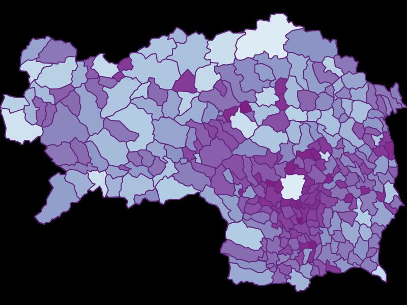 Маятниковые мигранты в Steiermark