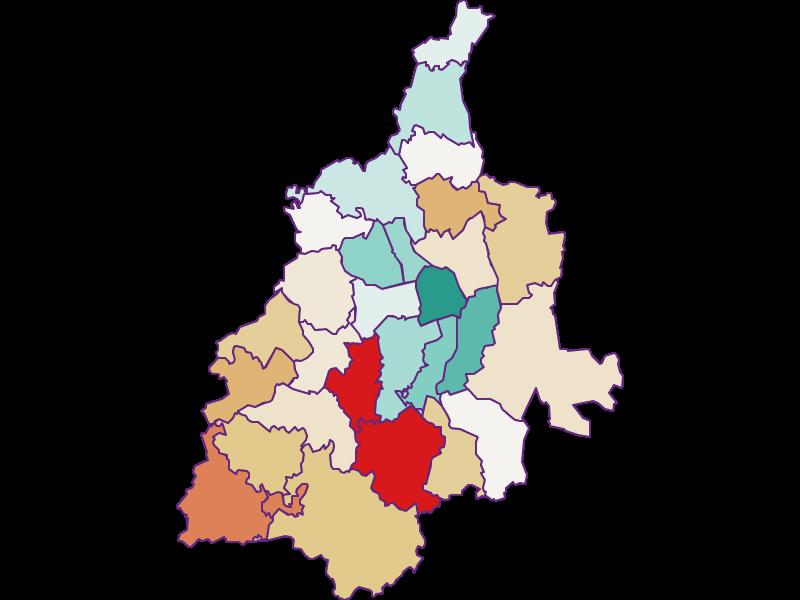 Прирост населения за 2011-2018 | Лейбниц