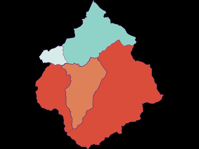 Прирост населения за 1869-2018   Ramingstein
