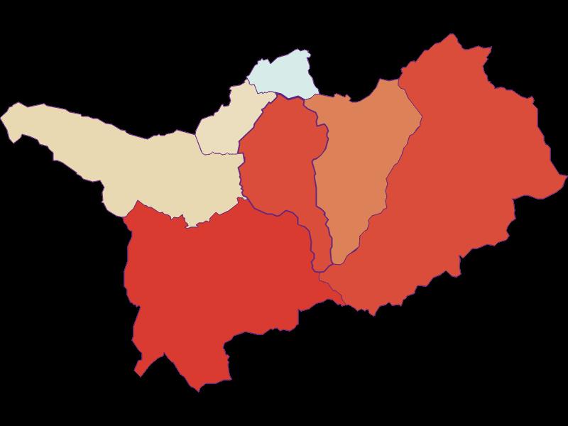 Прирост населения за 1869-2018   Thomatal