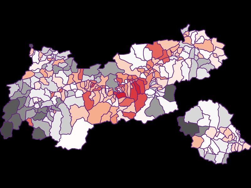 Занятость в Tirol