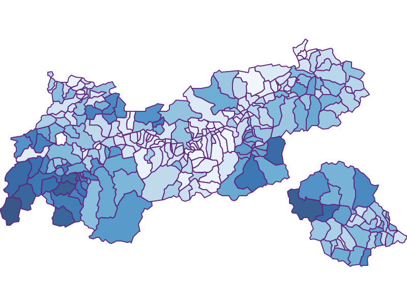 Безработица: Тироль - Австрия - География, экономика, статистика | Similio