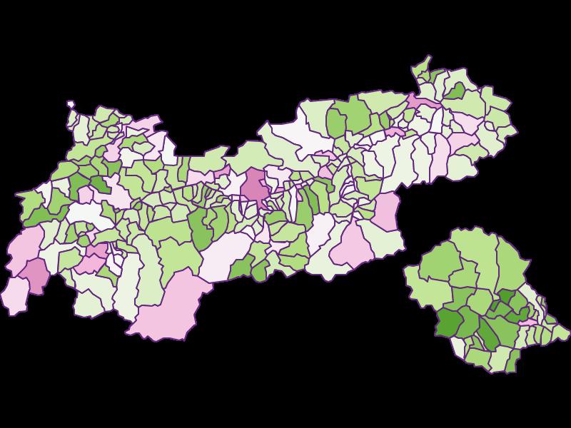 Заселенность в Tirol