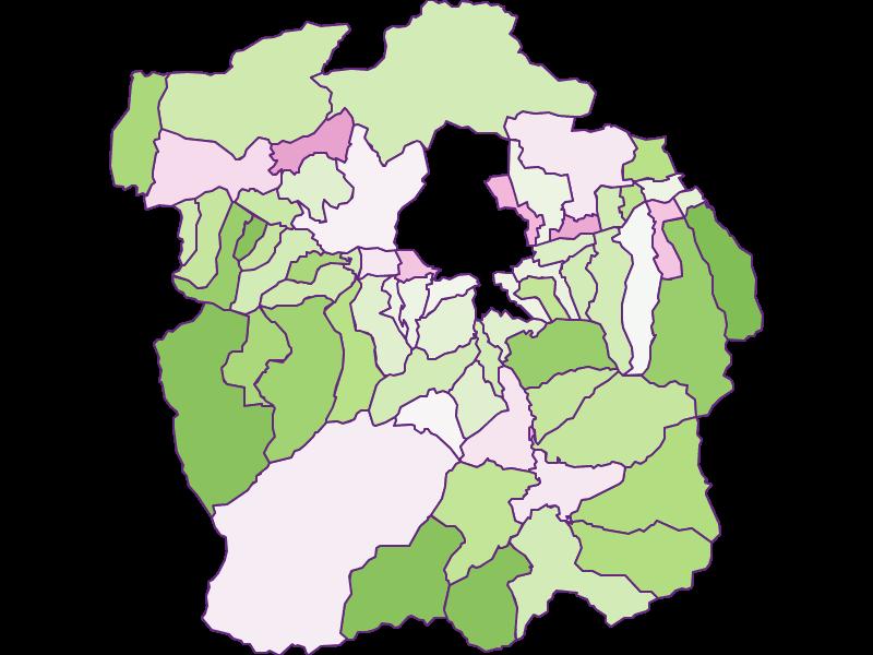 Заселенность в Innsbruck-Land