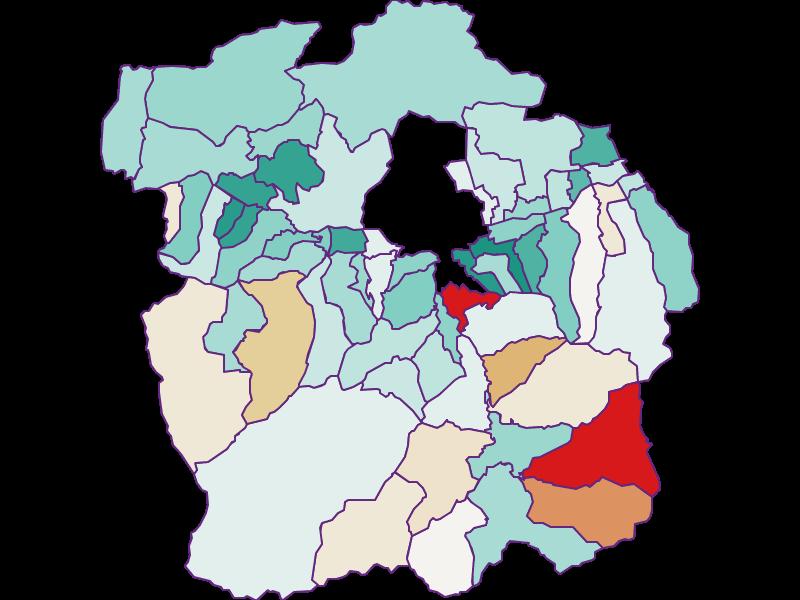 Демография с 2011 года в Innsbruck-Land