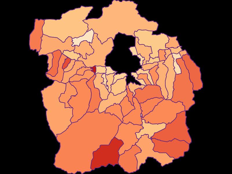 Размер домохозяйства в Innsbruck-Land