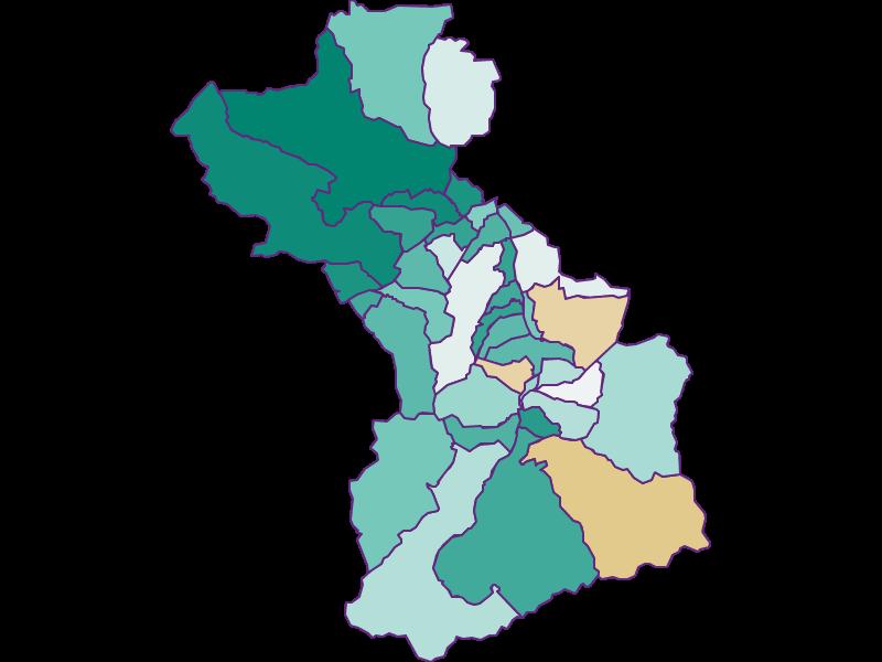 Bevölkerungsentwicklung seit 1869 in Schwaz