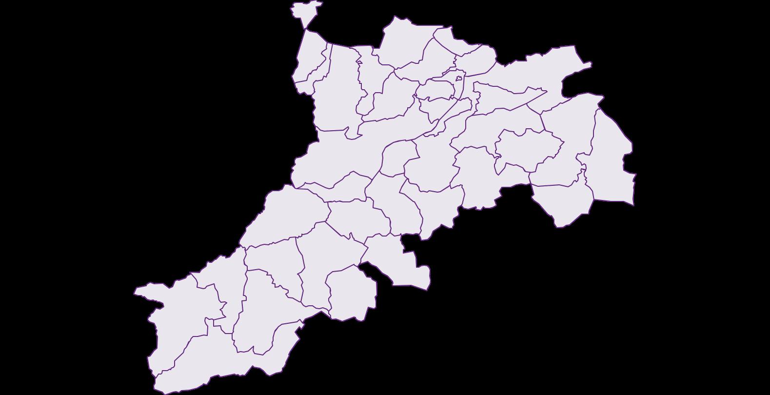 Bezirk Reutte Tirol - Geographie, Wirtschaftskunde, Statistik | Similio