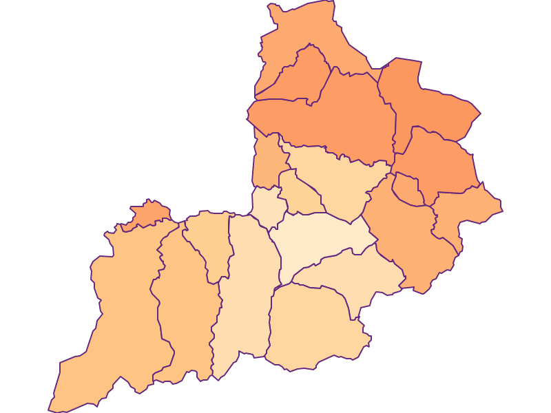 Размер домохозяйства в Kitzbühel