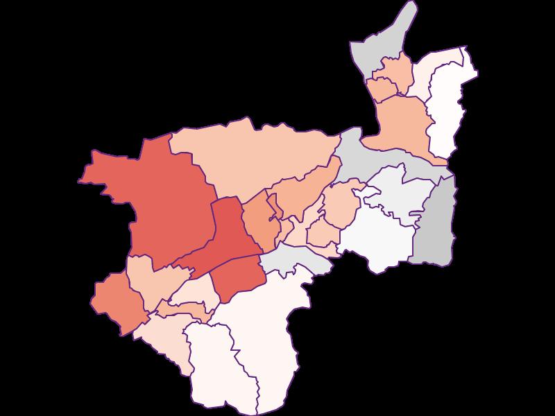 Activity rate in Kufstein