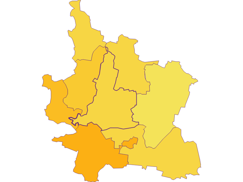 Population density in Grafenwörth