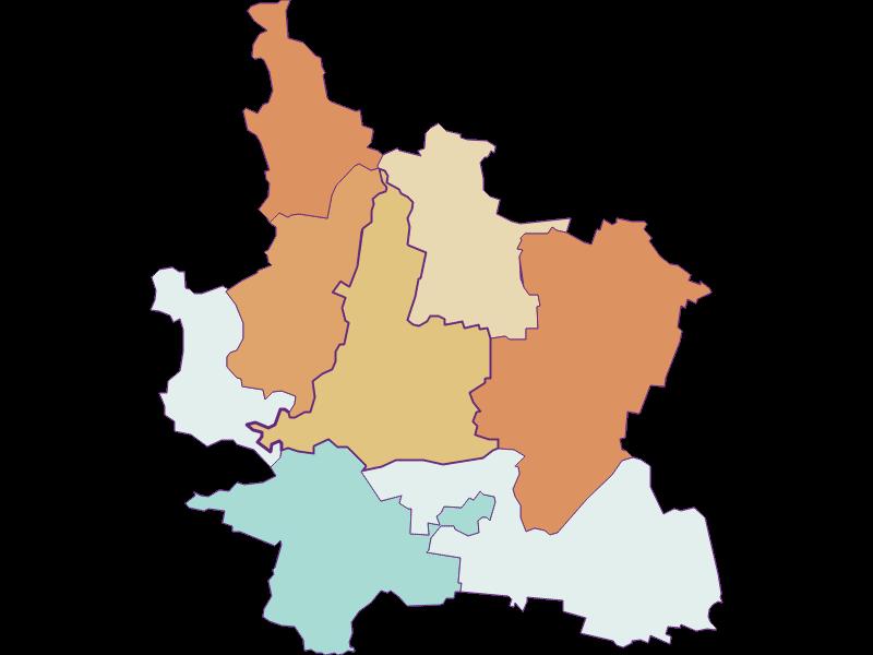 Population development since 1869 in Grafenwörth