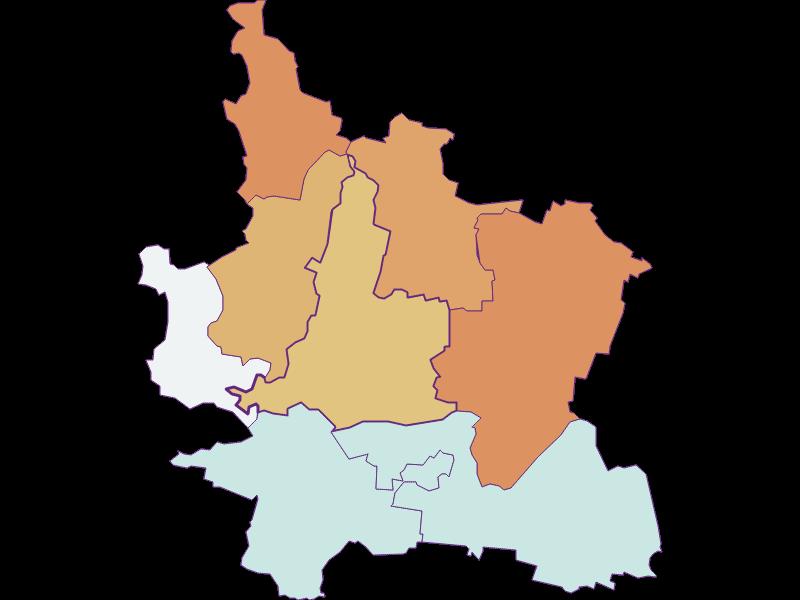 Population development since 1900 in Grafenwörth