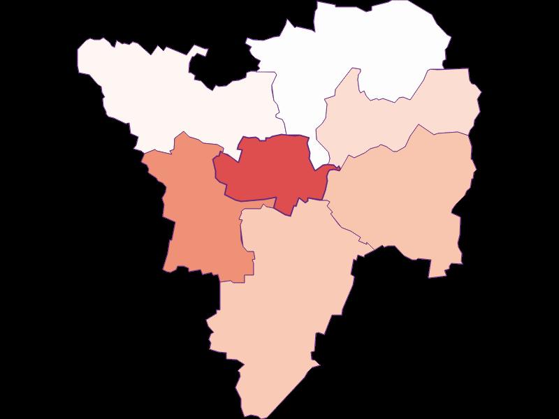 Activity rate in Großriedenthal