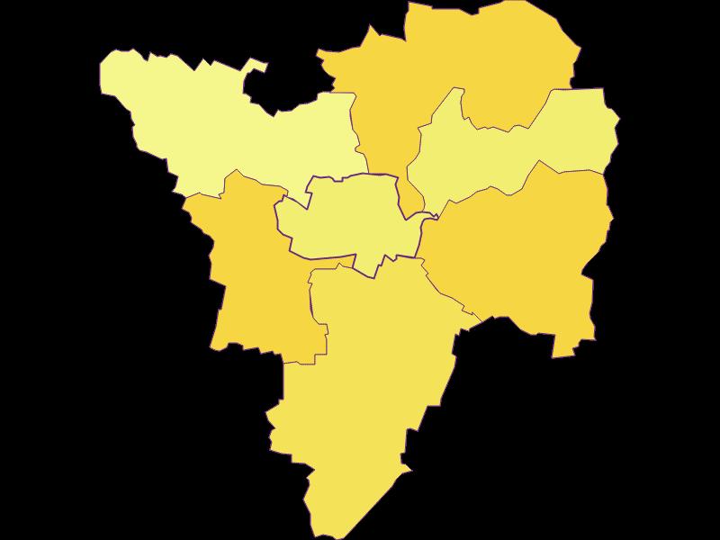 Population density in Großriedenthal