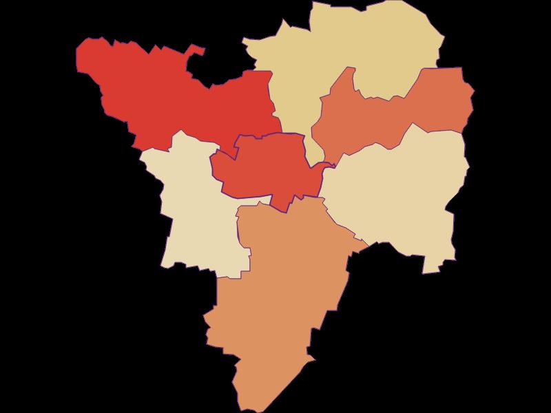 Population development since 1869 in Großriedenthal