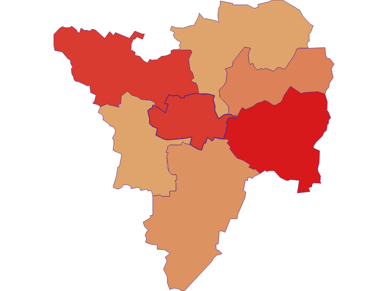 Population development since 1900 in Großriedenthal