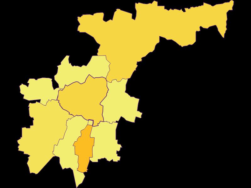 Плотность населения в Großweikersdorf