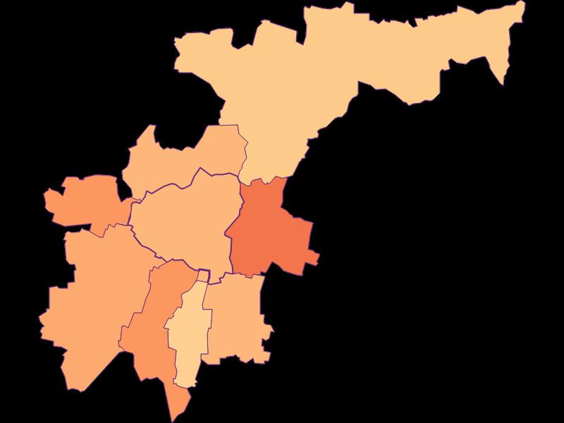Размер домохозяйства в Großweikersdorf